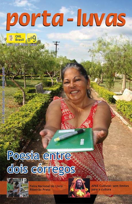 Capa da 9ª edição da revista Porta Luvas